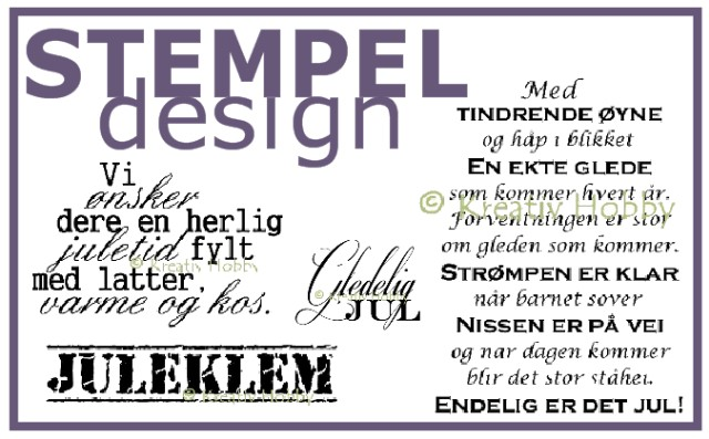 Stempeldesign