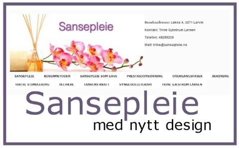 Sansepleie i nytt design